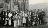 Congregation near Ukiah, CA, 1935