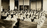 Classroom at St. Patrick's School, 1937?