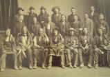 Portrait of Sioux Delegation in Washington D.C., 1891