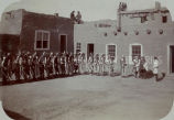 Gathered for Zuni Rain Dance, 1910?