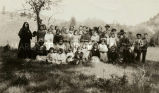 St. Mary's children and religious sisters, 1922