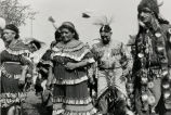 Jingle dress and grass dancers, 1956?