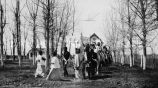 Head of Corpus Christi procession, 1911? - 1925?