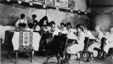 Classroom with sister and girls, 1926? - 1932?