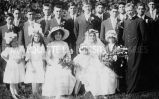 Wedding party of Jim Thorpe and Margaret Miller, 1913