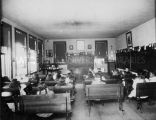View of elementary-level classroom, 1912