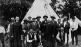 Clergy and catechists at Catholic Sioux Congress, 1916