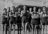 Coach Robert Clifford and Holy Rosary boys' basketball team, 1927