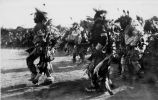Lakota dancers on Independence Day, 1935
