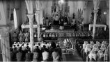 Funeral Mass of Albert Chief Eagle, 1943
